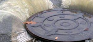 Πλημμυρισμένο φρεάτιο στου Παπάγου