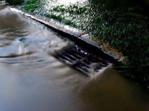 Πλημμυρισμενος δρομος
