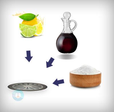 Μυρίζει η αποχέτευση; Δοκιμάστε ξύδι, σόδα και αλάτι