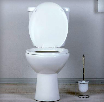 Βουλωμένη λεκάνη τουαλέτας από κόπρανα